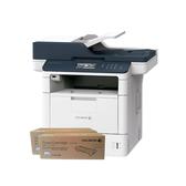 FujiXerox DocuPrint M375z 黑白無線雙面傳真雷射多功複合機 搭二支CT203109原廠碳粉匣