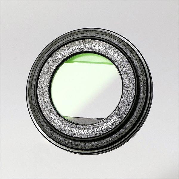 又敗家@Freemod含保護鏡X-CAP2半自動鏡頭蓋49mm鏡頭蓋49mm鏡頭前蓋鏡前蓋49mm鏡蓋手動開闔開閉蓋子