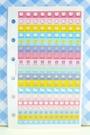 【震撼精品百貨】Hello Kitty 凱蒂貓~KITTY貼紙-重點貼-蛋糕