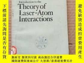 二手書博民逛書店introduction罕見to the theory of laser-atom interactions(P3