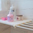 【GD145】收納分層隔板75-130廚房衛浴免釘自由伸縮置物架★EZGO商城★