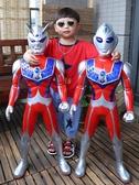 變身器 超大號奧特曼玩具迪迦泰羅賽羅銀河超人變身器兒童玩具變形器套裝 【快速出貨】