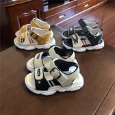 男童拖鞋 涼鞋男童沙灘鞋小孩夏季新款學步鞋軟底2男寶寶涼鞋1-3歲防滑【全館免運】
