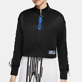 Nike AS W NSW JKT PK Sisterhood 女款 黑 運動 休閒 外套 CU6790-010