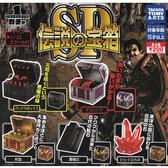 全套5款【日本正版】傳說中的寶箱 SP 扭蛋 轉蛋 迷你寶箱 TAKARA TOMY - 879692