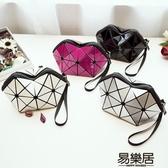 化妝包新款幾何菱格包化妝包韓國