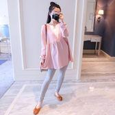 孕婦裝春裝套裝2018新款韓版外出時尚款長袖兩件套春季潮媽懷孕期
