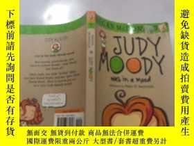二手書博民逛書店Judy罕見Moody was in a mood :朱迪·穆迪心情很好Y212829