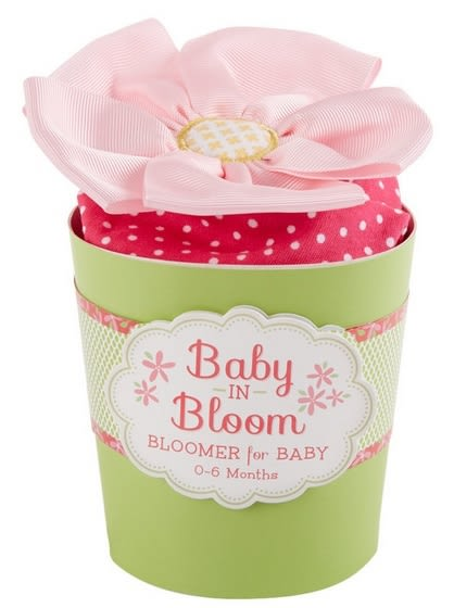 Baby Aspen 彌月禮 粉紅點點花朵包屁褲 0~6M (Final sale)