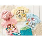 nissen外貿款多彩圖式短袖T恤-女童(AL40306) *繪米熊童裝*