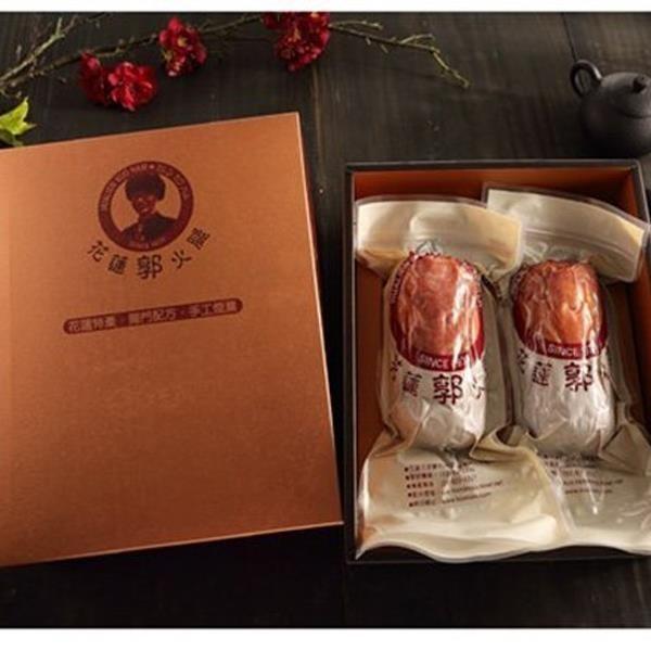 【南紡購物中心】預購-【花蓮郭火腿】御采禮盒 1盒(600g*2入/盒)