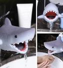水龍頭延伸器 鯊魚造型水龍頭延伸器 兒童洗手器 洗手台延伸器