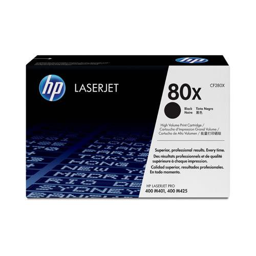 HP 原廠高容量黑色碳粉匣 CF280X 適用 LJ M401/M425