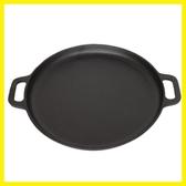 加厚平底鍋鑄鐵鍋烙餅鍋不粘鍋煎鍋鏊子家用攤煎餅果子鍋工具擺攤