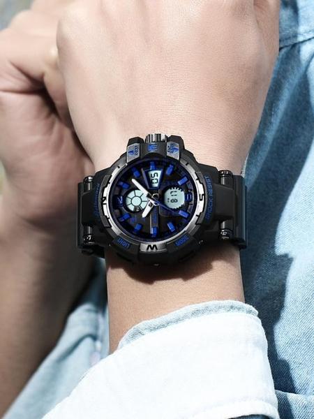 手錶男電子錶初中學生男錶機械潮流青少年防水夜光運動男士潮智慧  夏季新品