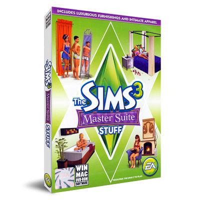 【軟體採Go網】PCGAME★新品搶先擁有★模擬市民3:主臥室組合 物件包(The Sims 3 Master Suite Stuff)