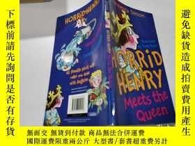 二手書博民逛書店horrid罕見henry meets the queen:可怕的亨利遇見了女王Y200392 不祥 不祥