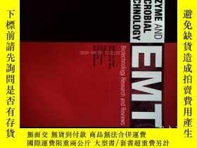 二手書博民逛書店ENZYME罕見AND MICROBIAL TECHNOLOGY EMT 91 09 2016 酶和微生物Y1