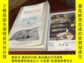 二手書博民逛書店英文原版罕見on becoming baby wise : giving your infant the gift