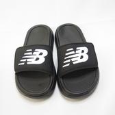New Balance 復古海綿拖鞋 公司貨 魔鬼氈 SD1501GBK 男女款 整數尺碼 黑【iSport愛運動】