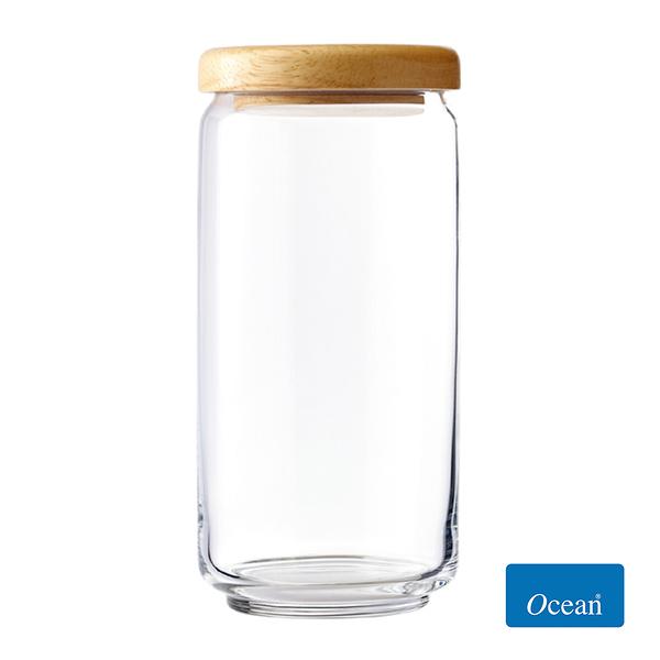 Ocean 木蓋儲物罐1000cc