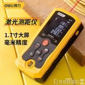 測距儀 得力工具手持式激光測距儀高精度電子尺紅外量房儀40-100米家用 爾碩 雙11