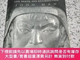 二手書博民逛書店Genghis罕見Khan-Life, Death, and Resurrection 成吉思汗:生命,死亡和復活