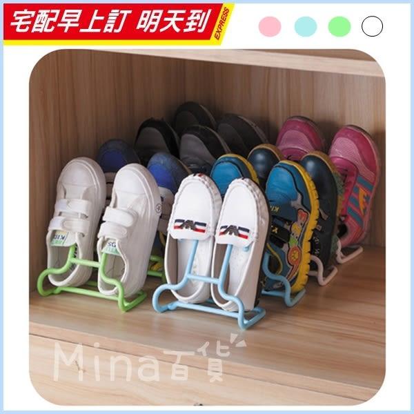 ✿mina百貨✿ 可立可掛式晾鞋架 多功能二合一晾鞋架 兒童收納鞋架2入裝 【F0158】