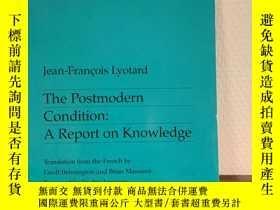 二手書博民逛書店The罕見Postmodern Condition: A Rep