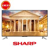 登錄送 大降價 🐔 SHARP 夏普 LC-60UA6500T 液晶電視 4K HDR WiFi 超薄邊框 Dolby Audio 公司貨 單機