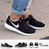 Nike 休閒慢跑鞋 Roshe One GS Run 黑 銀 白內裡 黑白 運動鞋 女鞋 大童鞋【PUMP306】 599728-021