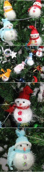 雪人鏈條 雪人串(6個雪人)