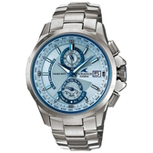 CASIO OCEANUS 動靜虛實鈦合金電波腕錶(銀)