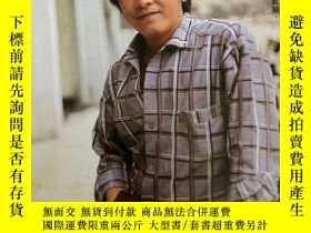 二手書博民逛書店罕見姜大衛彩頁(背面陳安瑩)Y357108
