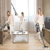 除螨吸塵器 德爾瑪吸塵器家用推桿小型強力地毯除螨蟲手持式迷你大功率 芭蕾朵朵YTL