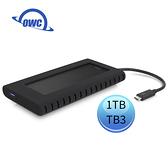 OWC Envoy Pro EX 1.0TB Thunderbolt 3 高速外接 NVMe M.2 SSD 固態硬碟 ( OWCTB3ENVP10 )