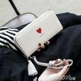 長款錢包   女士手拿錢包 新款女韓版潮個性學生拉鍊多功能長款大容量皮夾    coco衣巷