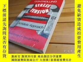 二手書博民逛書店CONTROLLING罕見STRESS & TENSION: A