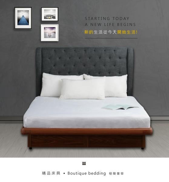 【富邦8400萬 專利智能掀床人體感應LED】3.5尺單人加大安全掀床 床架 YUDA