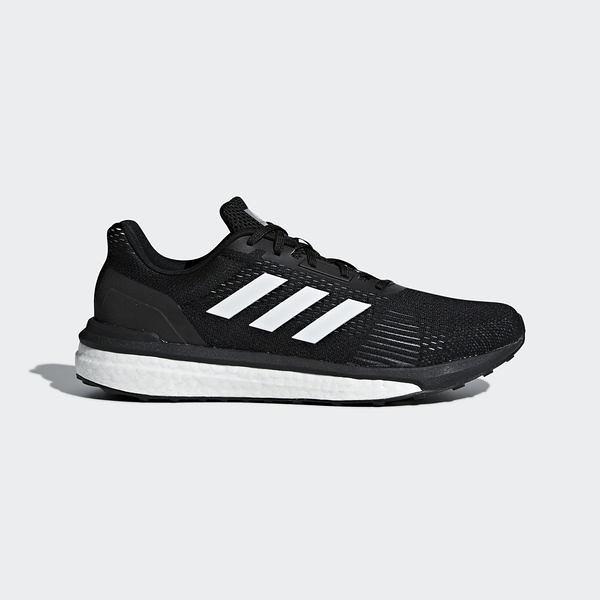 Adidas Solar Drive M [AQ0326] 男鞋 運動 慢跑 休閒 緩震 舒適 健身 輕量 愛迪達 黑白