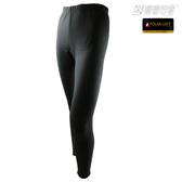 [極雪行者]SW-PLK300(女)黑色/最強內層褲/軍用polar-loft(24h)150g/m2全防風複合雙層絨面加厚內層褲