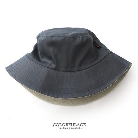 全素面棉質布料漁夫帽 遮陽帽 紳士帽 潮人穿搭入手款 貼心雙面設計【NH183】透氣舒適