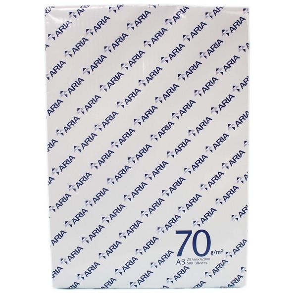 ARIA A3影印紙 70磅 白色影印紙/一箱5包入(一包500張)共2500張入 70磅影印紙-文