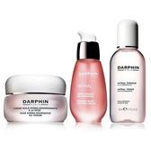 DARPHIN 全效舒緩精華液30ml+玫瑰精露潤澤乳霜50ml+全效舒緩化妝水50ml