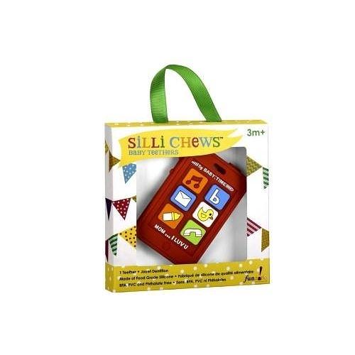 美國 Silli Chews 手機造型咬牙器(固齒器)SC-7[衛立兒生活館]