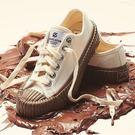 ISNEAKERS EXCELSIOR 白色 巧克力色 巧克力醬 膠底 帆布鞋 餅乾鞋 秋冬最新色 韓國限定