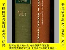 二手書博民逛書店Quantum罕見Theory Of Atomic StructureY255562 John C. Slat