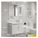 衛浴智慧pvc浴室櫃組合小戶型洗臉盆櫃洗手面池洗漱台衛生間吊櫃 樂活生活館