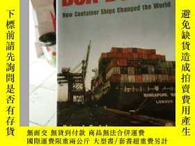 二手書博民逛書店BOX罕見BOATS; How Container Ships