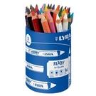 【德國 LYRA】3623360  三角漆皮彩色鉛筆12cm (36支/筆桶裝) /筒